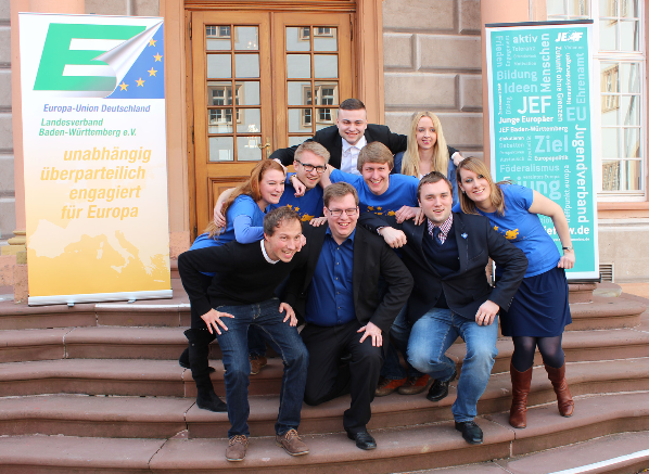 Landesvorstand der Jungen Europäer Landesverband Baden-Württemberg e.V. (JEF)